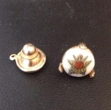 Vintage Swank Ceramic Tie Tack Pin Military - $14.49