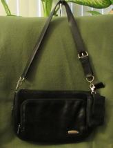 Travelon Black Leather Organizer - $404,10 MXN