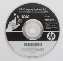 HP Compaq Business PC: Diagnostics and Documentation DVD - Ships in 12 h... - $7.99