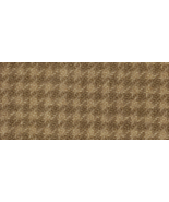 Oak Houndstooth 16x13 (1219) 100% wool hand dye... - $12.60
