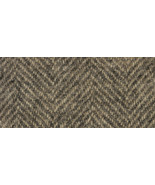 Oak Herringbone 16x26 (1219) 100% wool fabric h... - $25.20