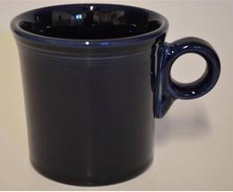 HLC Homer Laughlin ~ Fiesta ~ Cobalt Blue Tom & Jerry ~ Coffee Cup  Mug ... - $14.95