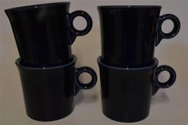HLC Homer Laughlin ~ Fiesta ~ Cobalt Blue Tom & Jerry ~ Coffee Cups  Mug... - $44.95