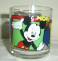 ANCHOR HOCKING DISNEY MICKEY & MINNIE MOUSE GLASS  MUG - $29.99