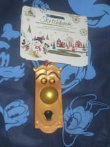 Disney Store DoorKnob Alice in Wonderland Sketchbook Ornament. Brand New. - $9.89