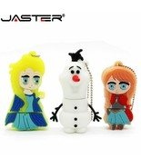 JASTER® 100% Reali Capacity Beauty Princess Elsa Anna Olaf Pen Drive Mem... - $4.20+