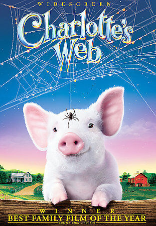 Charlottes Web (DVD, 2006, Widescreen New) Children's Movie