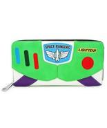 Loungefly Disney Toy Story Buzz Lightyear Cosplay Zip Clutch Wallet WDWA... - $39.00