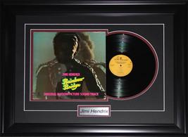 Jimi Hendrix music album record frame - $184.34