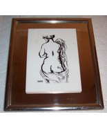ARTISIDE MAILLOL FRAMED MIRRORED NUDE MODEL WALL ART - $142.89