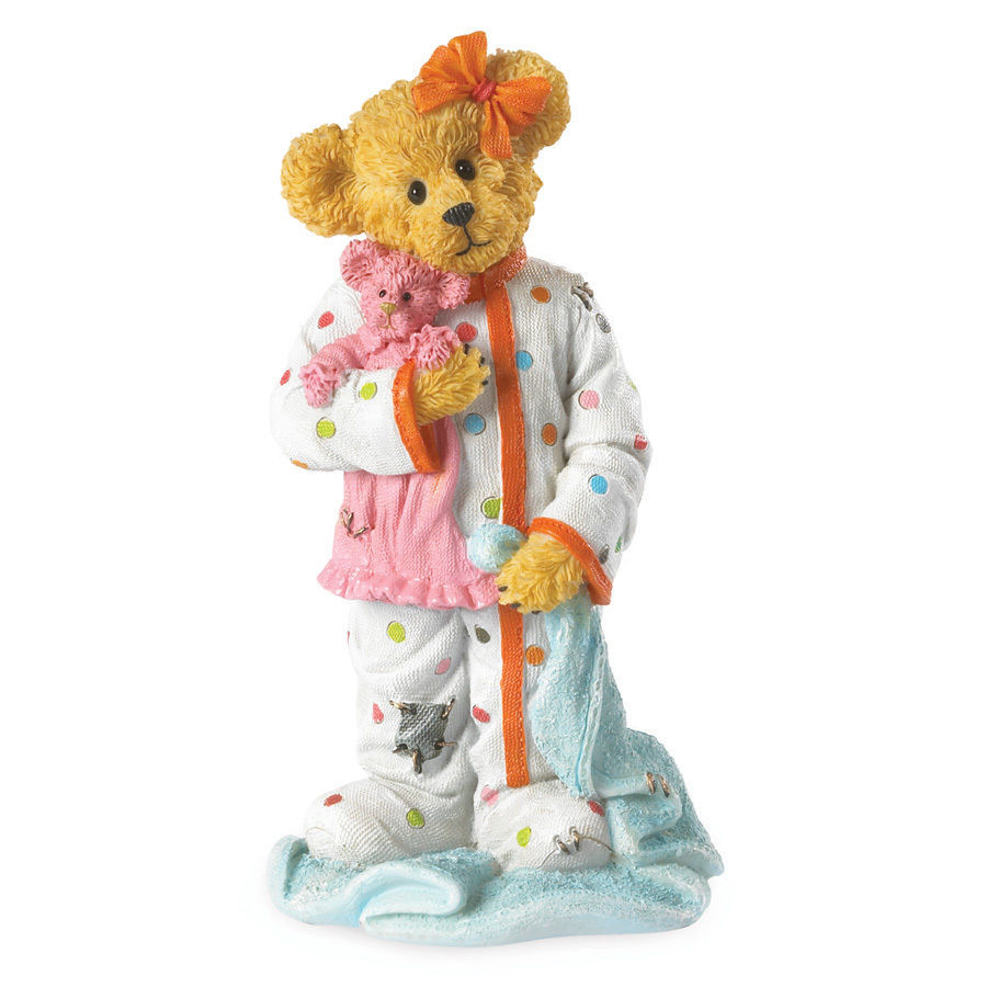 "Boyds Bearstone ""CHLOE GOODFRIEND W/ CUDDLES..SWEET DREAMS"" #4037999 - NIB-2013"