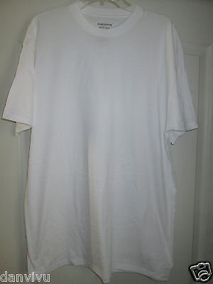 Primary image for Nordstrom MEN'S SHOP Crewneck Short SLV Supima Cotton T-Shirt White L UPC50