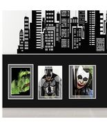 Set of Three Super Hero Comicon DC and Marvel 5 x 7 Collectors Art Pieces - $14.95