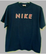 Mens Nike Navy Blue Short Sleeve T Shirt Size L - $7.95