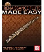 Renaissance Flute Made Easy Book w/CD Set  - $16.99