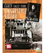 Early Jazz For Fingerstyle Guitar Book w/CD Set  - $25.99