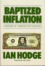 BAPTIZED INFLATION BY IAN HODGE (1986, PAPERBACK) - $22.11
