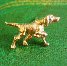 Golden Retriever Tie Tack Vintage Pointer Irish Setter hunting Dog Tie T... - $70.00