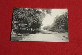 1915 Postcard of Street in Illinois   - $7.00