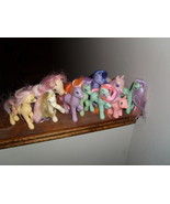 My Little Pony G1, G2, G3 bait lot of 10 - $25.00