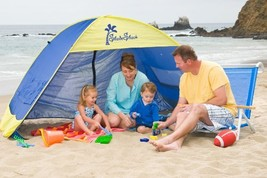 Shade Shack Beach Tent Easy Automatic Instant Pop Up Sun Shelter - BLUE/... - $88.94 CAD