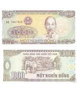NEW AUTHENTIC PAPER MONEY 10 PSC VIETNAM 1000 DONG BANKNOTES MONEY = 10 ... - $222,90 MXN
