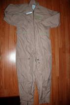 Nwt Us Air Force Nomex Fire Resistant Flight Suit Cwu 27/P Khaki   50 R - $93.50