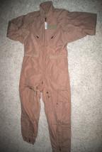 Nwt Us Air Force Tan Nomex Fire Resistant Flight Suit Cwu 27/P   42 L  #1 - $98.18