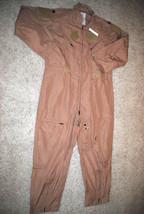 Nwt Us Air Force Tan Nomex Fire Resistant Flight Suit Cwu 27/P   48 R - $98.18