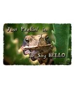 Greeting Card with Toad Just Peekin' In  - $3.50