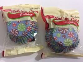 Betty Crocker Baking Cups Happy Holidays Christmas Hanukkah Cupcake 100 ... - $144,42 MXN