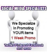 Social Media Specialists 7 Days Twitter + Plus Media Package