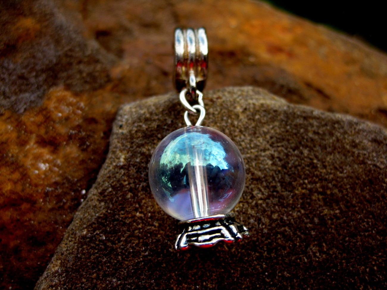 Primary image for INCREASE YOUR PSYCHIC ABILITIES 1000X CRYSTAL BALL CHARM!  SO POWERFUL!
