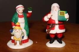 """Dept 56 Christmas Collectables """"Santa and Mrs. Claus"""" - $12.00"""
