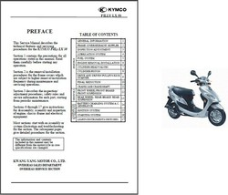 Kymco Filly LX 50 Scooter Service Repair Workshop Manual CD .. LX50 - $12.00