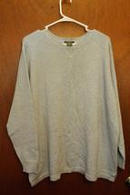 Men's Eddie Bauer Blue 2XL Crewneck Sweater - $9.99