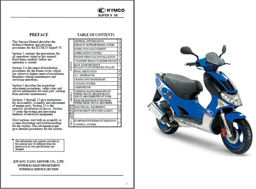 kymco super9 50 scooter service repair workshop manual cd. Black Bedroom Furniture Sets. Home Design Ideas