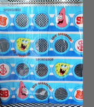 Cute Cartoon SPONGE BOB SQUARE PANT Blue Color 1.8x1.8m Bathroom SHOWER ... - $19.99