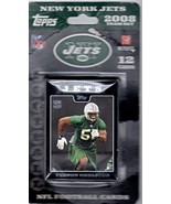 Topps Football Cards -NFL New York Jets -2008 (Team Set of 12 Cards) - $3.00