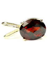 P002, 10x8mm, 3.3 ct, Mozambique Garnet, 14KY Gold Pendant - $279.87