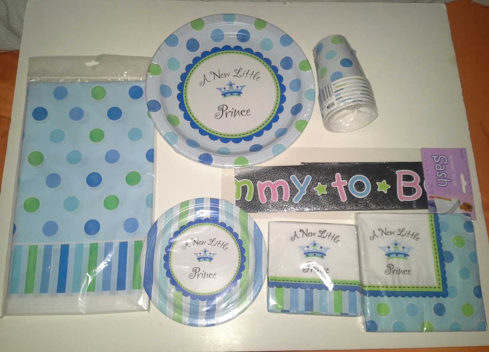new little prince themed baby shower party decorations huge lot of