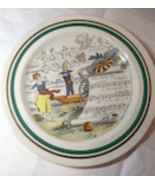 Vernon Klin GUILLAUME TELL  Vintage Reproduction Plate - $9.99