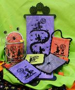 Goblins on Parade halloween bellpull cross stitch chart Blackberry Lane ... - $16.20