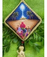 The Three Wisemen #1 Ornament cross stitch chart Blackberry Lane Designs - $14.40