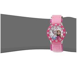 Disney Kids Frozen Anna Snow Queen Stainless Steel Watch Analog Water Resistant - $48.99