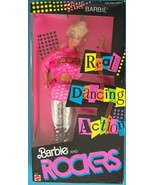 Vintage  © Mattel Inc.1986 BARBIE & THE ROCKERS DOLL Dancing Action   #3055 NRFB - $39.00
