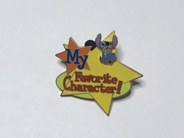 RARE HTF Disney My Favorite Character STITCH 3D Custom Build-A Pin 2003 ... - $35.00