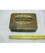 Antique Collectible DUTCH MASTERS Small Metal Cigar Box 1926 Tobacco Sta... - $39.95