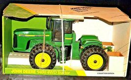 1996 John Deere 9400 4 WD Replica Toy Tractor Collector Edition  1/16 Scale Ertl image 4