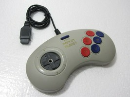 Retro Power Player Video Game Controller For SEGA Genesis - Gray - $10.99